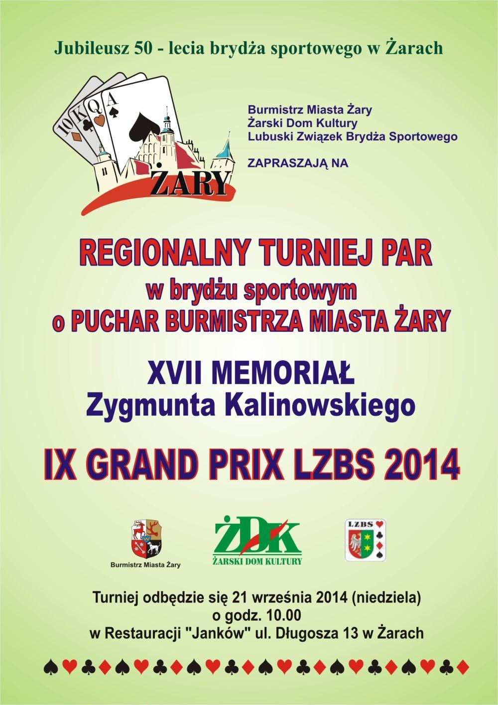 Ilustracja do informacji: Regionalny Turniej Par w Brydżu Sportowym