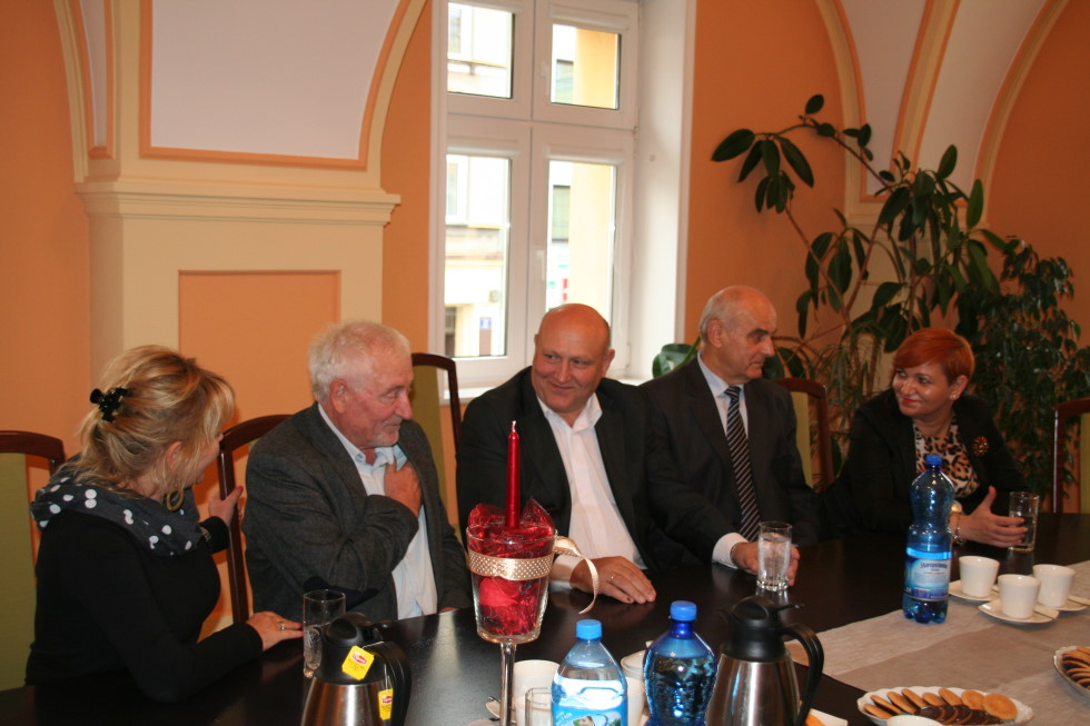 Ilustracja do informacji: Delegacja z węgierskiego miasta partnerskiego Gárdony w Żarach