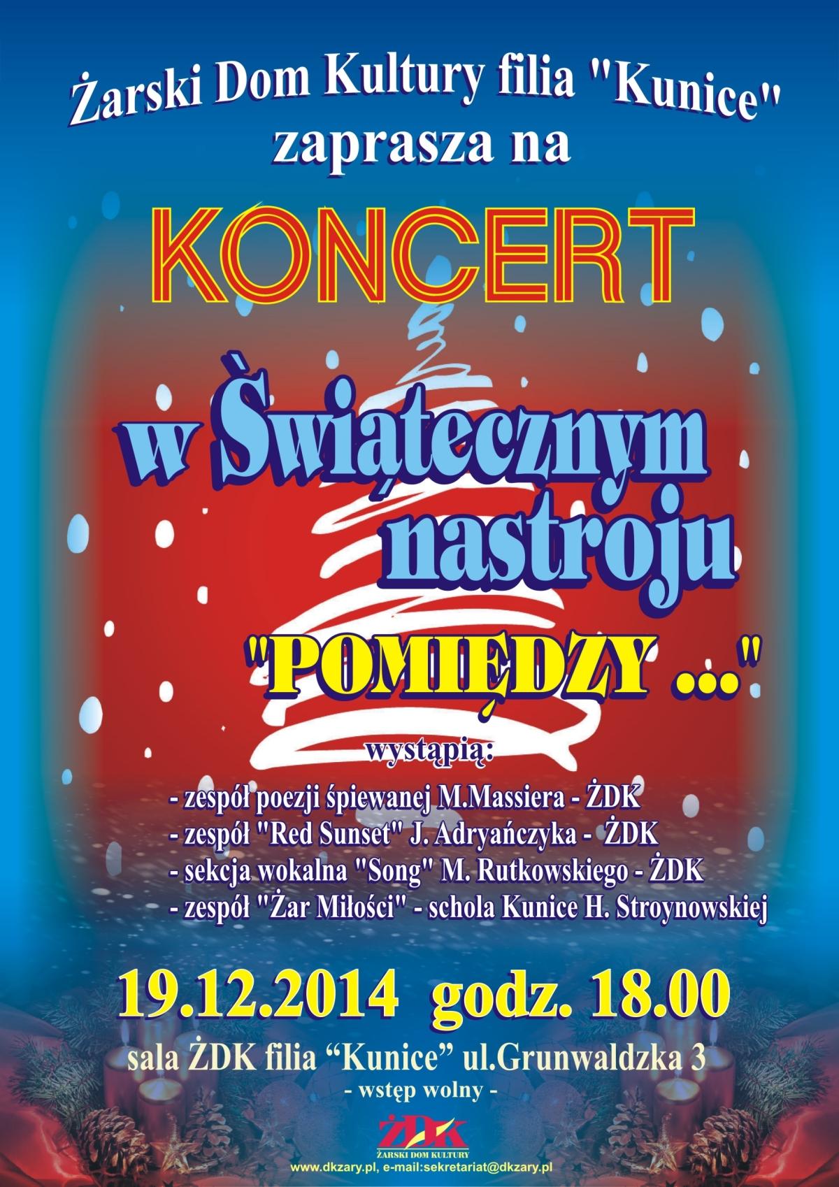 Ilustracja do informacji: Koncert