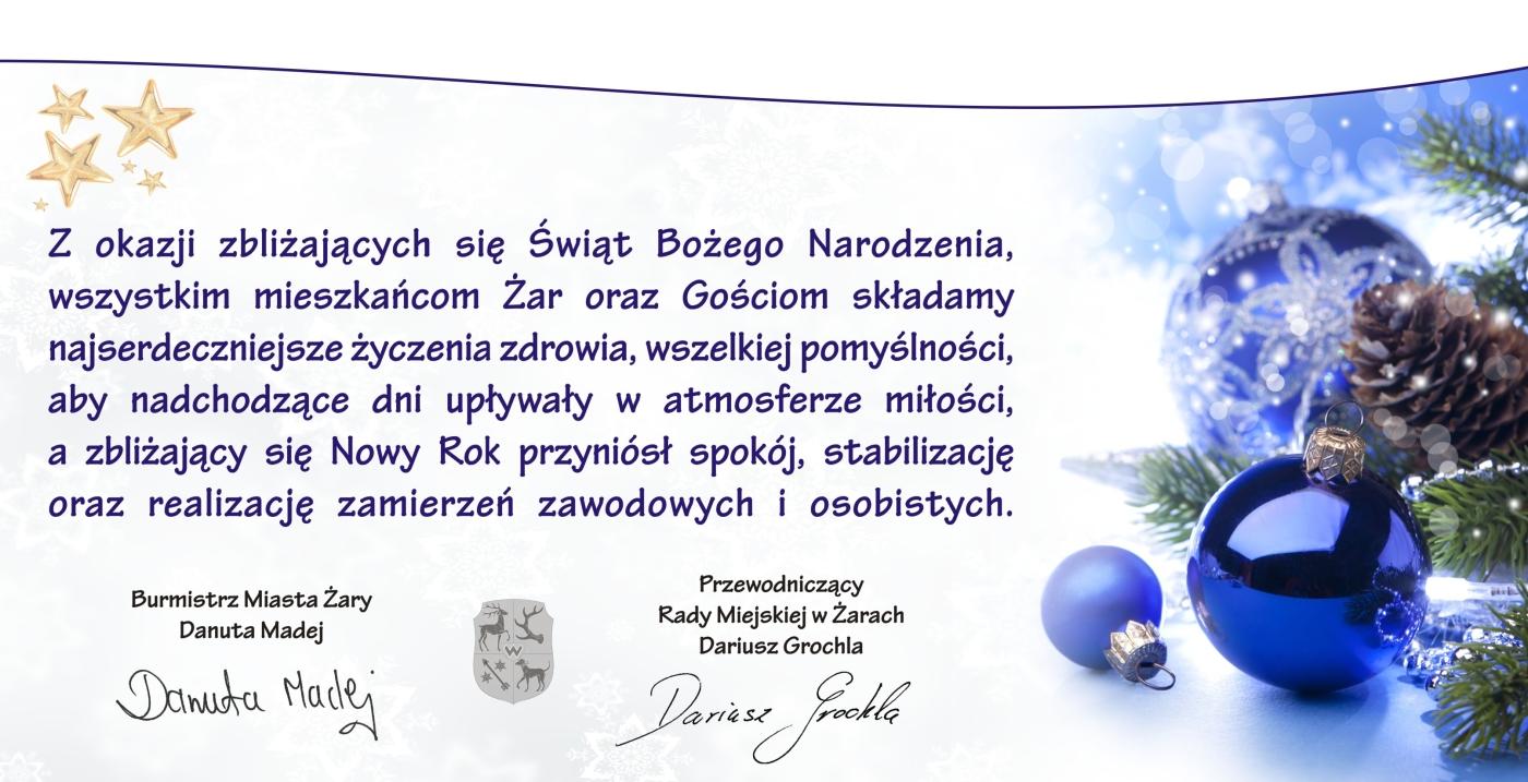 Ilustracja do informacji: Życzenia Świąteczne