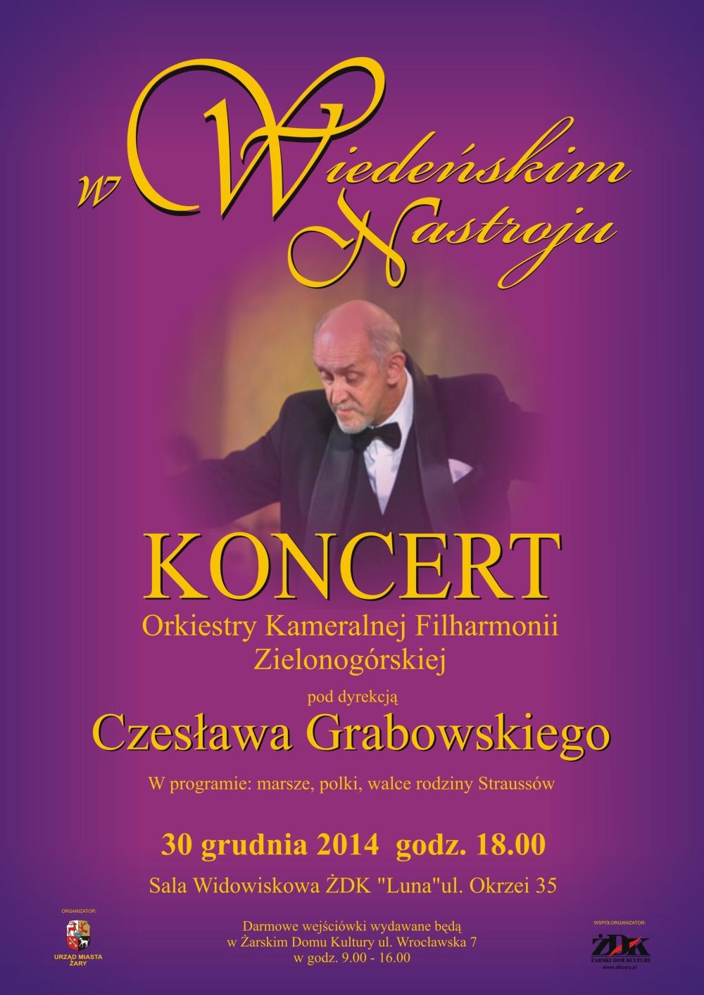 Ilustracja do informacji: Koncert w Wiedeńskim Nastroju