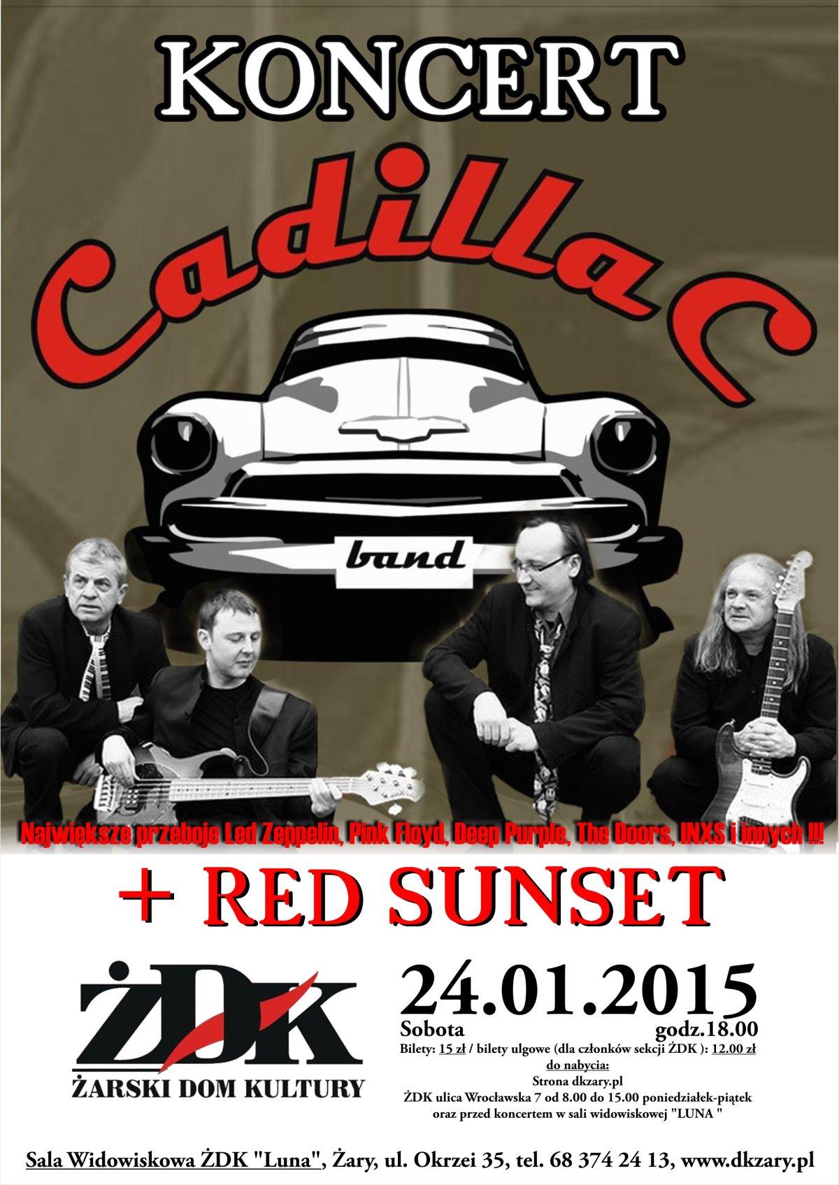 Ilustracja do informacji: Koncert Cadillac