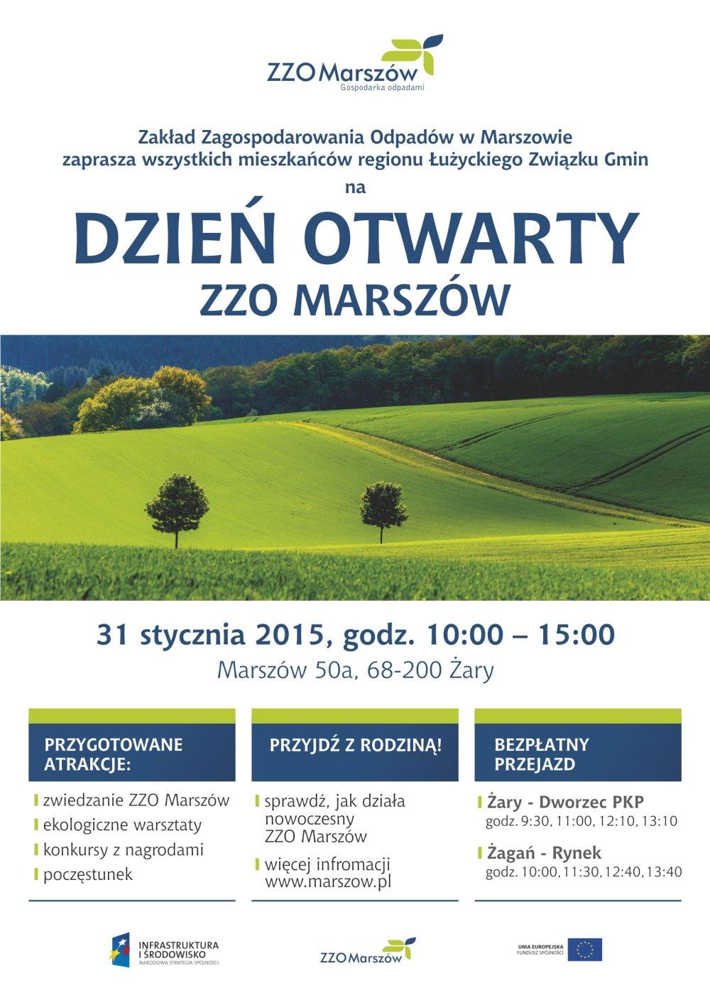 Ilustracja do informacji: Dzień otwarty ZZO Marszów