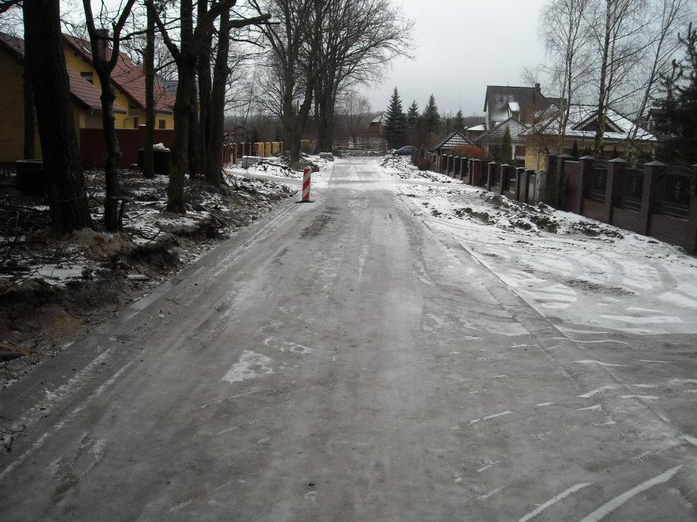 Ilustracja do informacji: Przebudowa drogi na ul. Dębowej