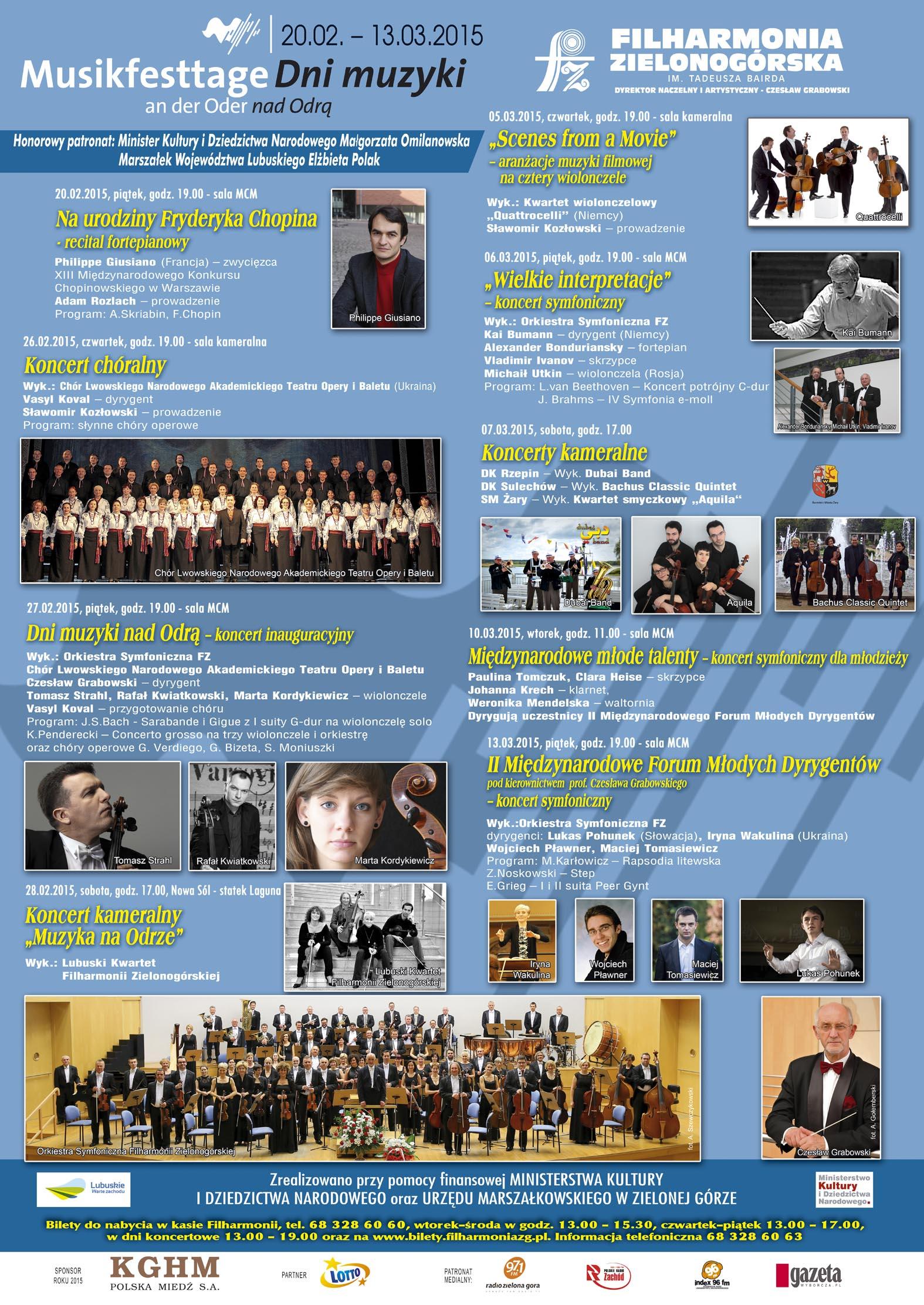 Ilustracja do informacji: Dni Muzyki nad Odrą