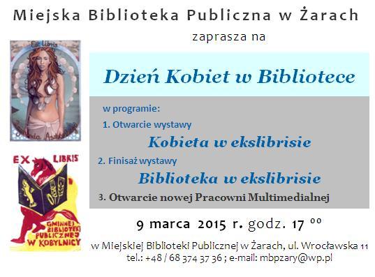 Ilustracja do informacji: Dzień Kobiet w Bibliotece