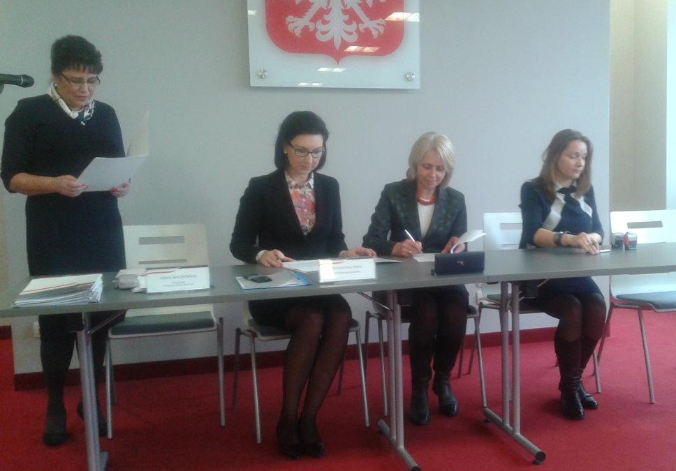 Ilustracja do informacji: Umowa na dofinansowanie przebudowy ul. Żagańskiej podpisana