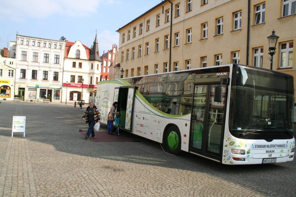 Ilustracja do informacji: Autobus Energetyczny w Żarach!