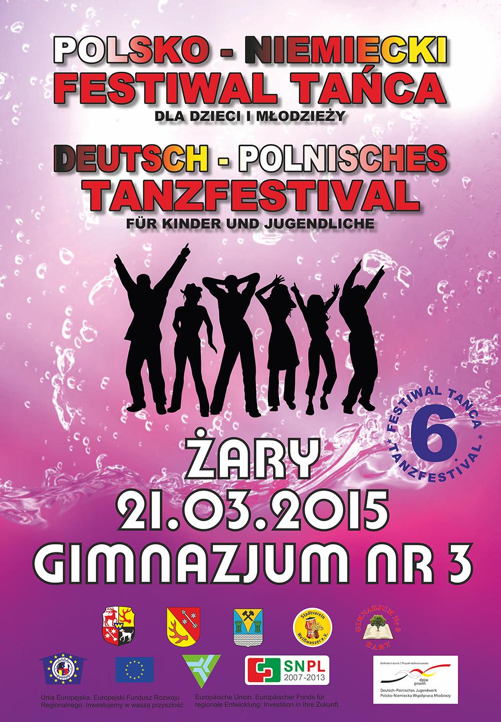 Ilustracja do informacji: Polsko - Niemiecki Festiwal tańca