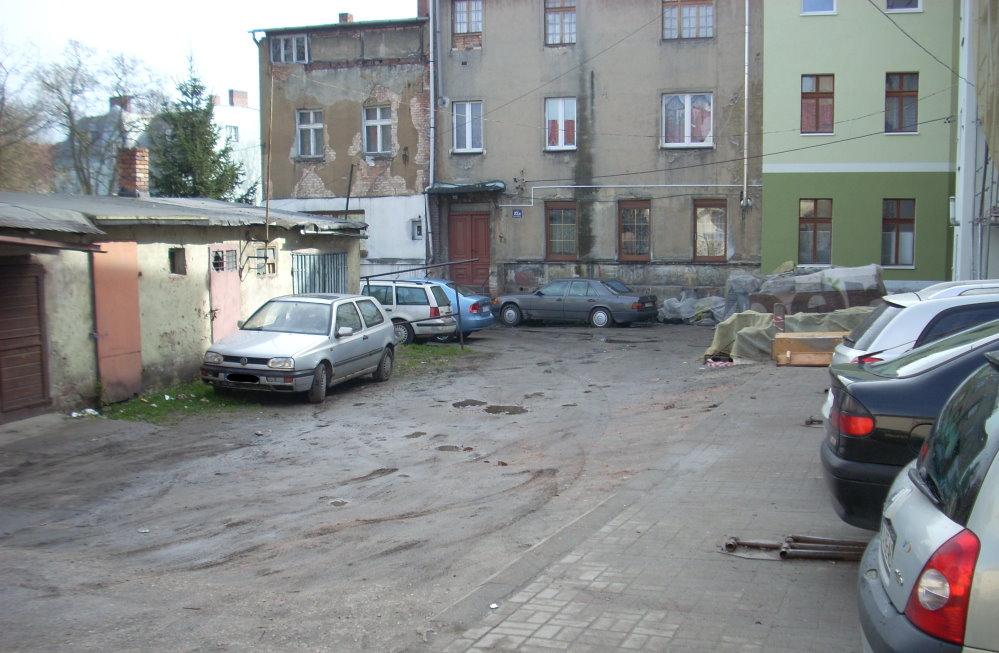 Ilustracja do informacji: Teren między ulicami Podwale i Buczka