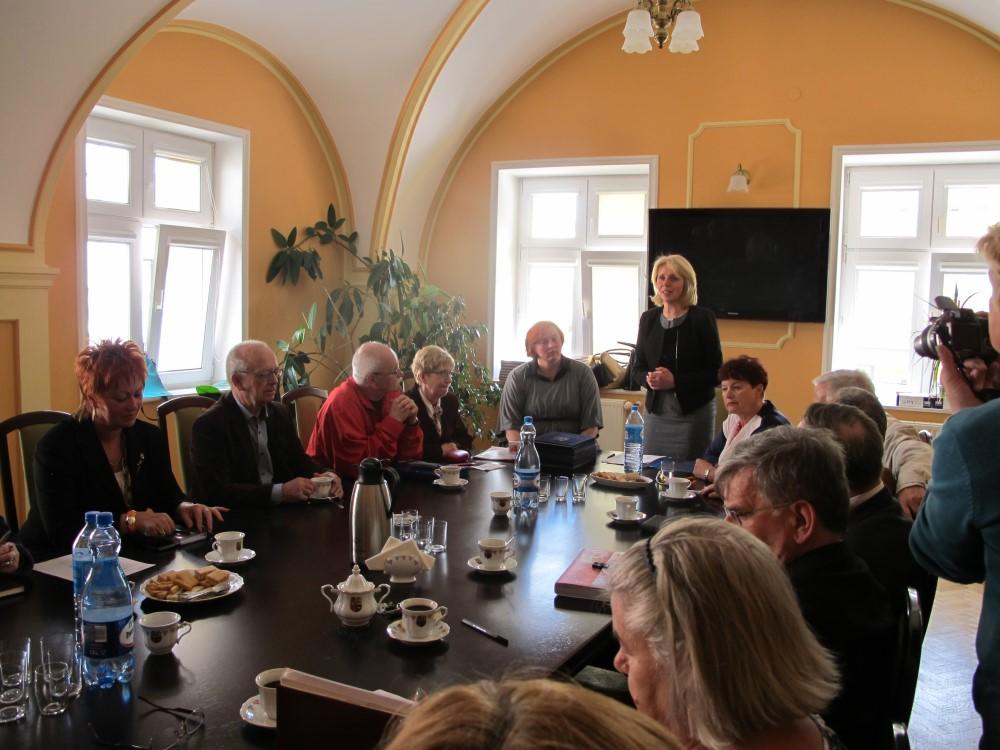 Ilustracja do informacji: Pierwsze posiedzenie Miejskiej Rady Seniorów
