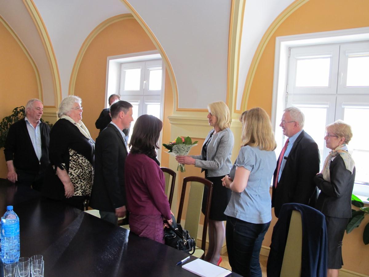Ilustracja do informacji: Żary odwiedziła niemiecka organizacja non-profit