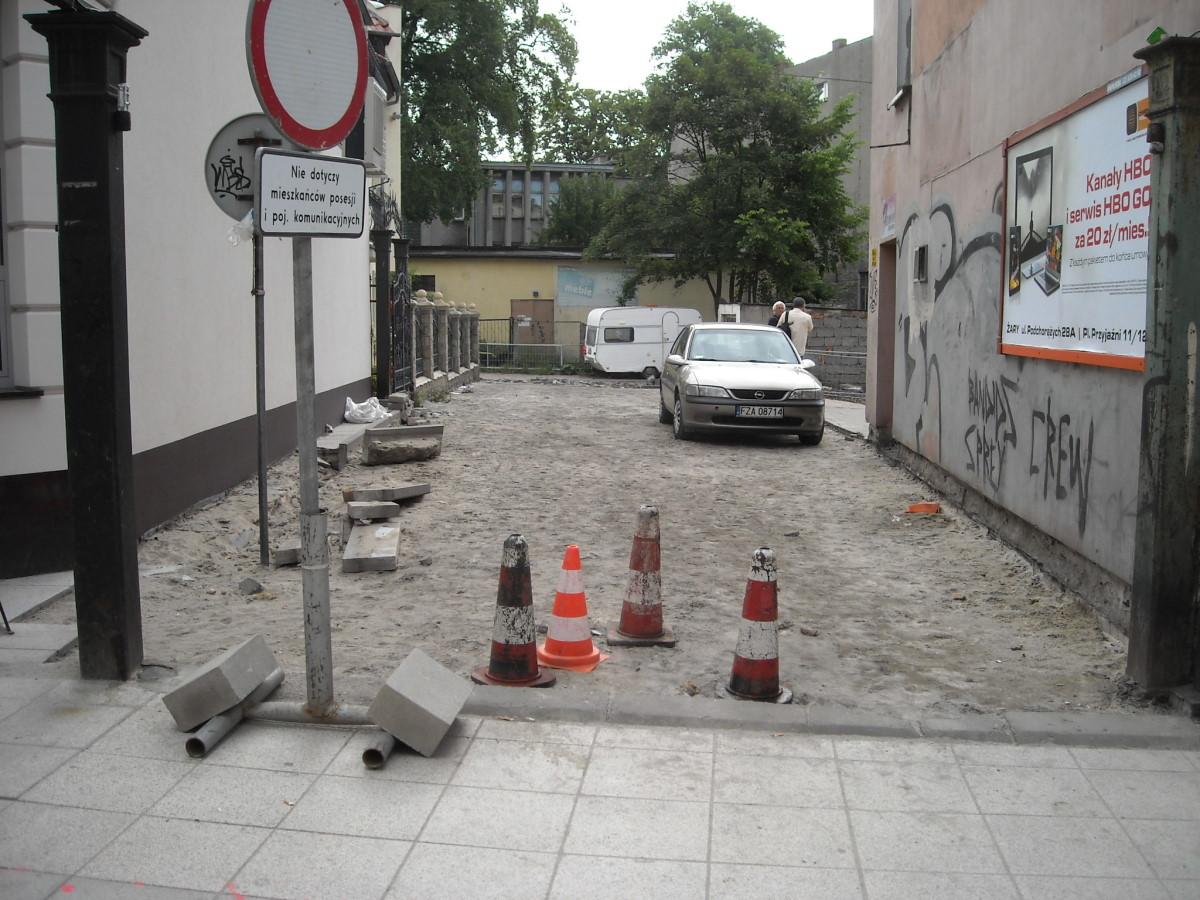 Ilustracja do informacji: Remont łącznika pomiędzy ulicami Buczka a Podwale.
