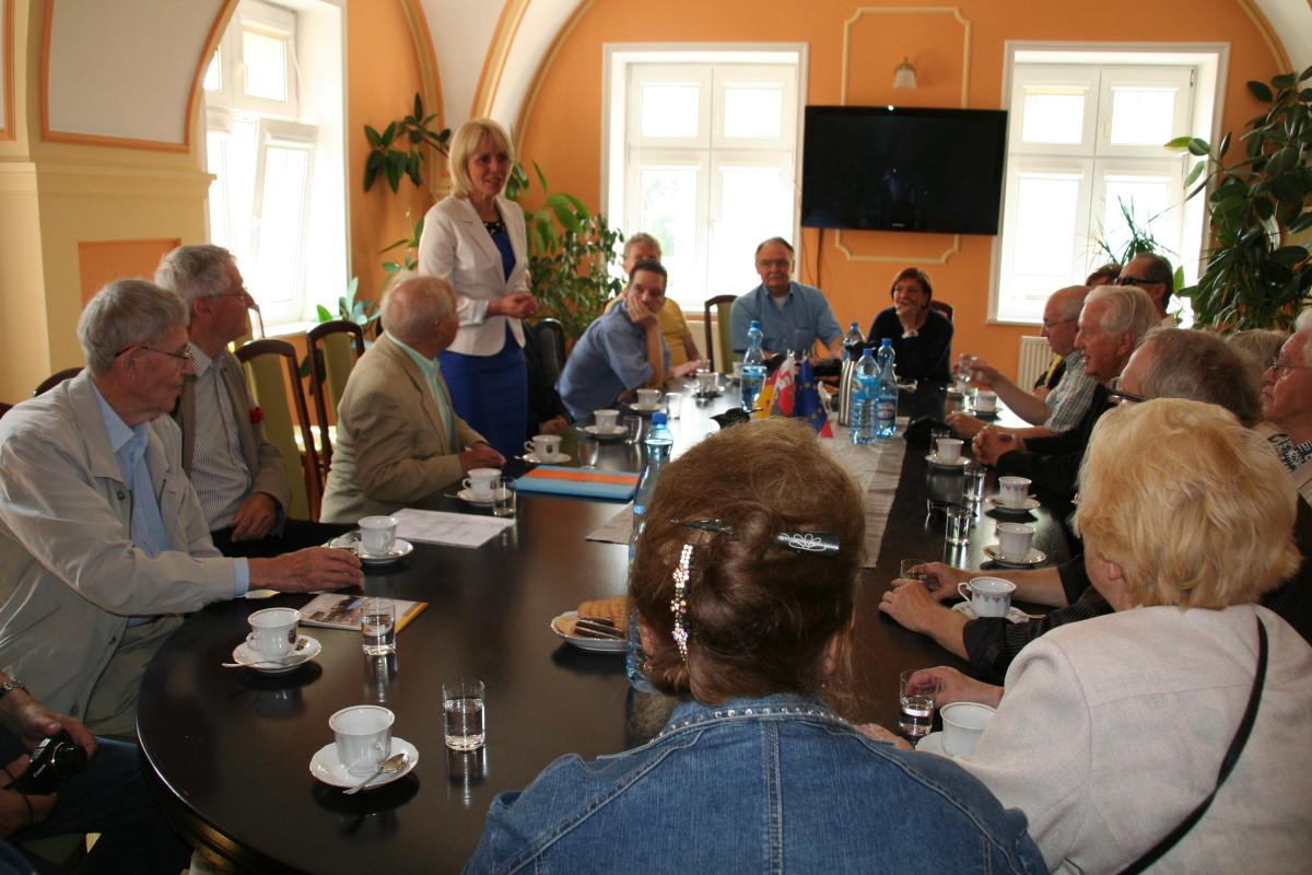 Ilustracja do informacji: Wizyta w Żarach