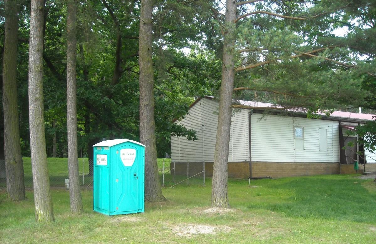 Ilustracja do informacji: Przenośne toalety w Żarach