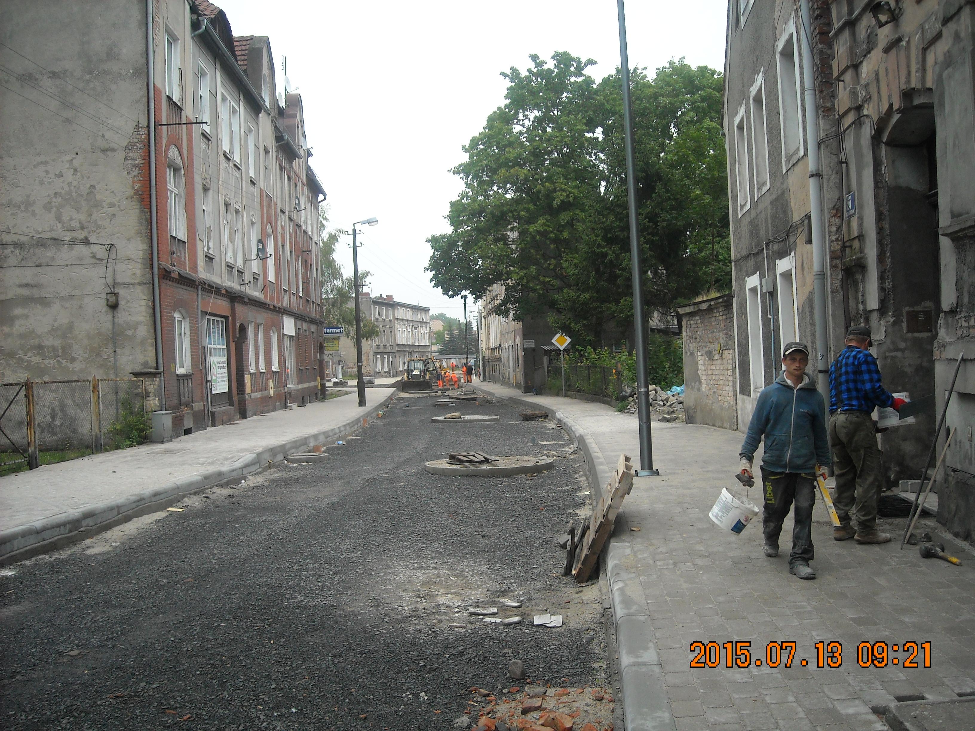Ilustracja do informacji: Ulica Żagańska