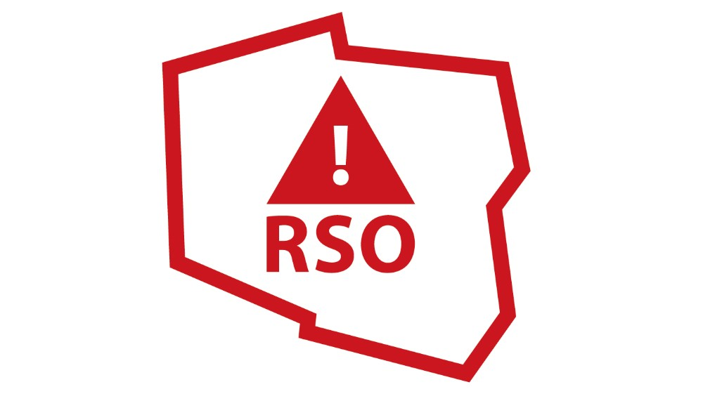 Ilustracja do informacji: Regionalny System Ostrzegania RSO