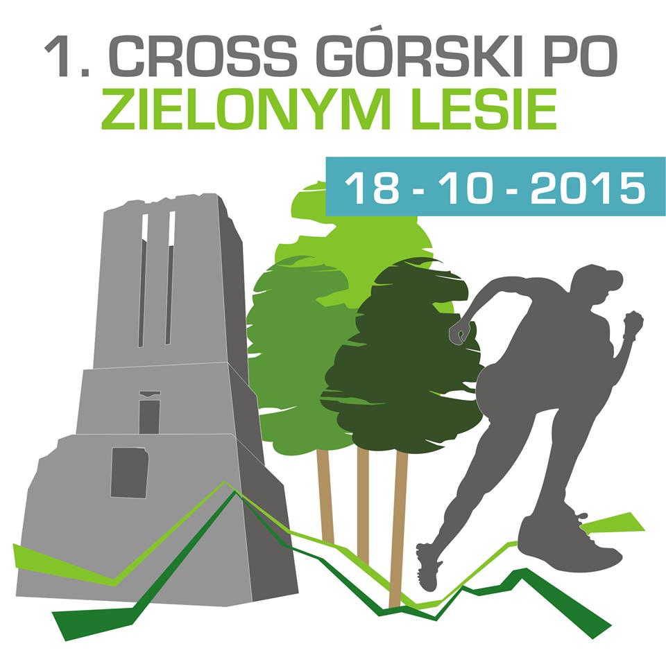 Ilustracja do informacji: 1. Cross Górski po Zielonym Lesie