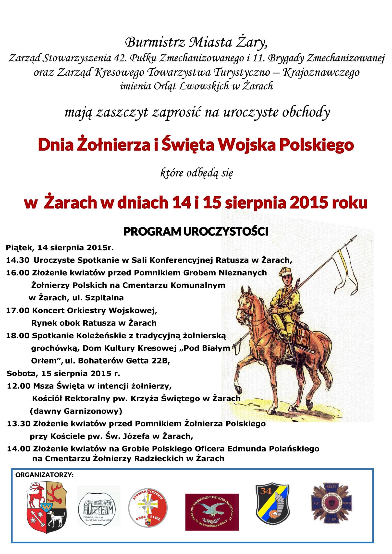 Ilustracja do informacji: Dzień Żołnierza i Święto Wojska Polskiego