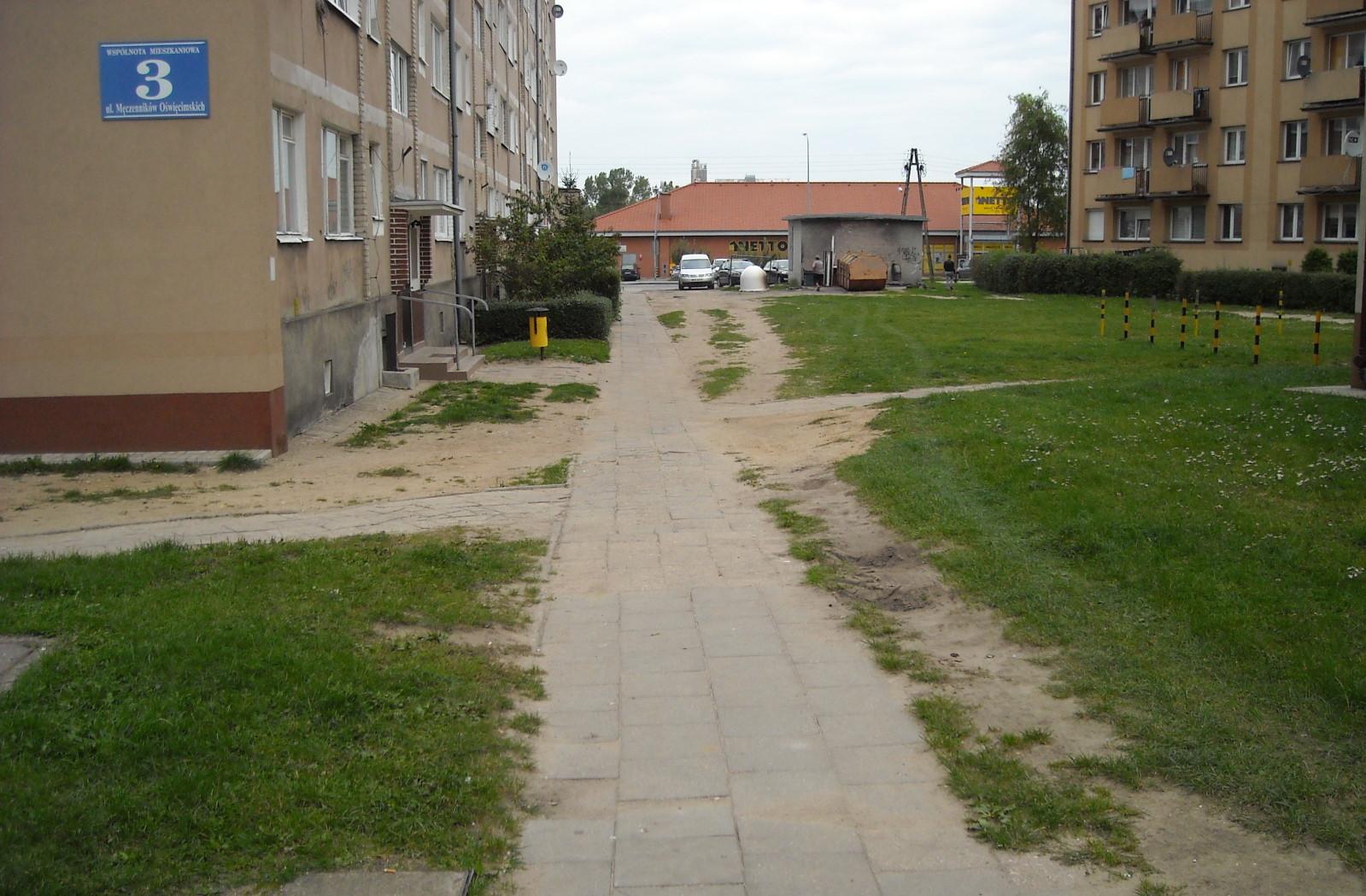 Ilustracja do informacji: Wybrano ofertę na zagospodarowanie terenów przy ul. Męczenników Oświęcimskich w Żarach