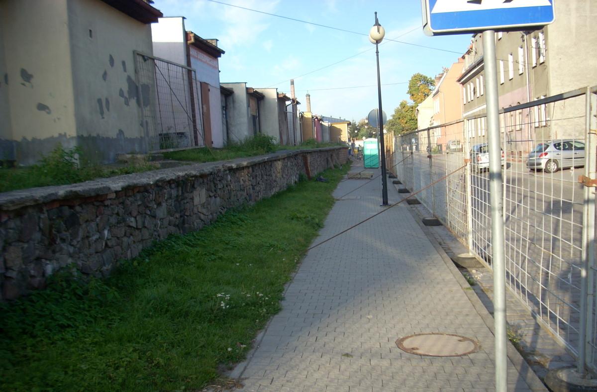 Ilustracja do informacji: Zagospodarowanie ternu pomiędzy ulicą Kąpielową a Mieszka I