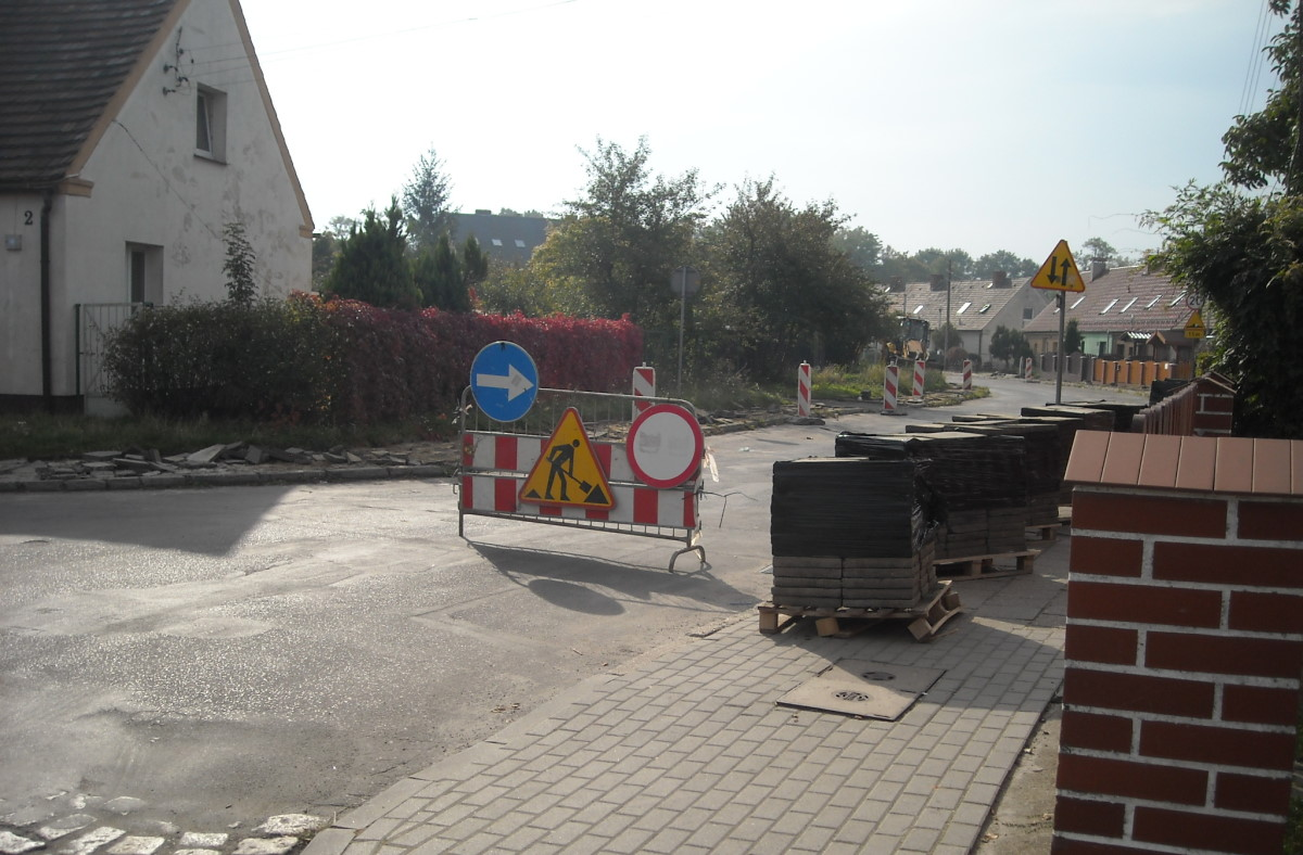 Ilustracja do informacji: Remont chodników