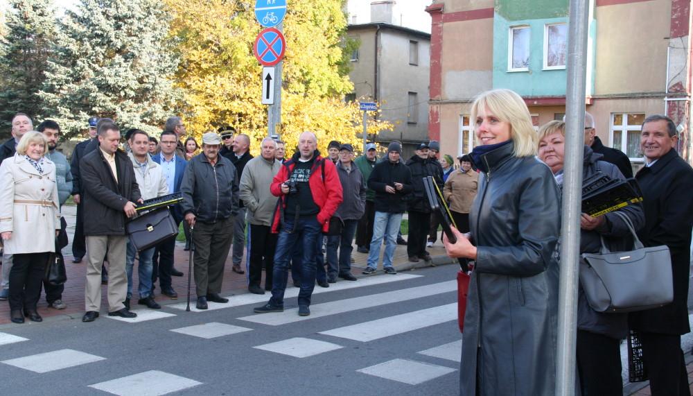 Ilustracja do informacji: Ulica Żagańska po remoncie
