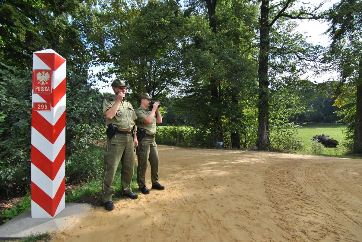 Ilustracja do informacji: Współpraca ze Strażą Graniczną