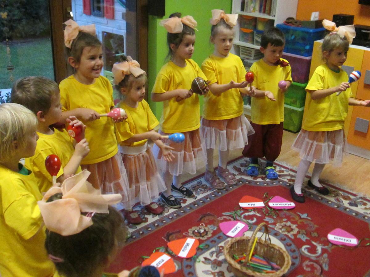 Ilustracja do informacji: Urodziny przedszkola eNCe-peNCe