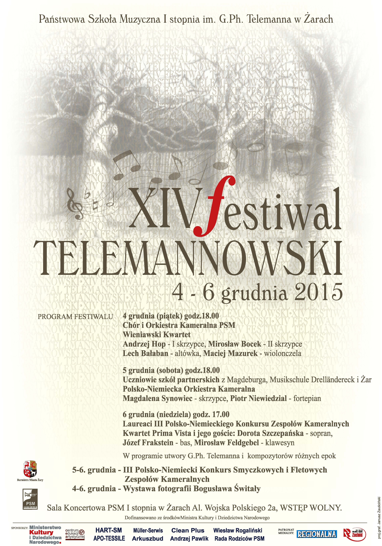 Ilustracja do informacji: XIV Festiwal Telemannowski