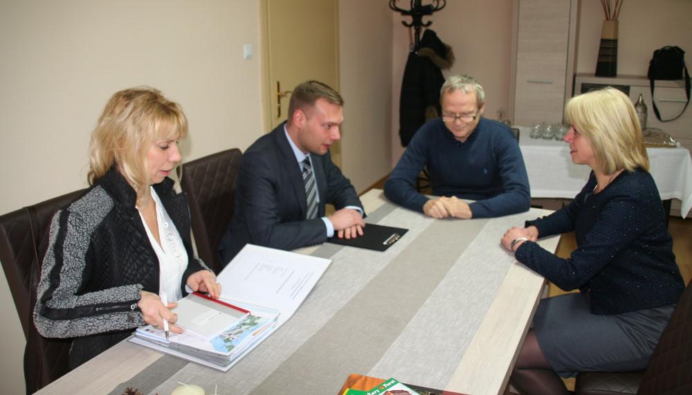 Ilustracja do informacji: Wizyta Burmistrza Forst w Żarach