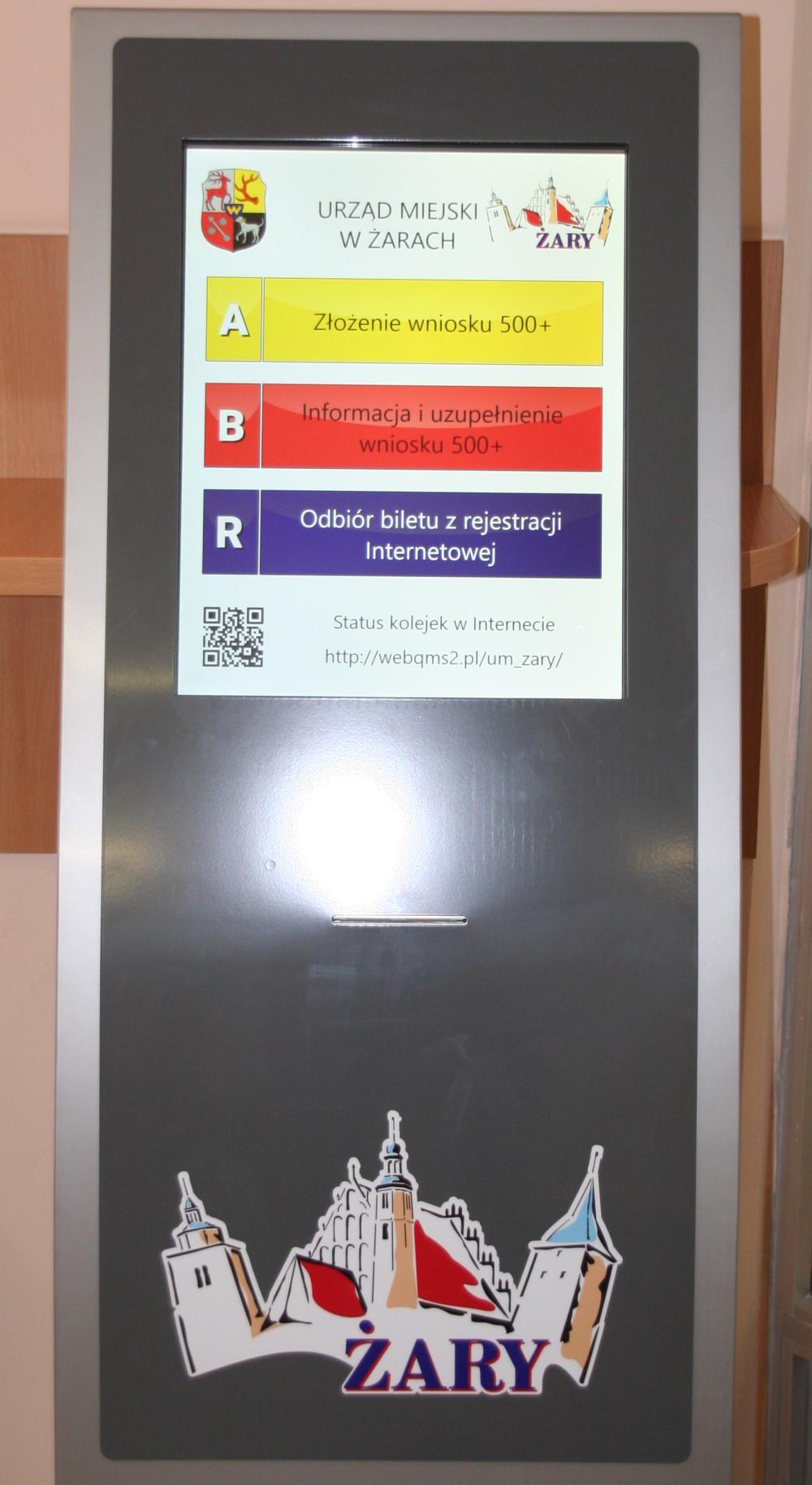 Ilustracja do informacji: Nowy system kolejkowy w biurze obsługi mieszkańca wejście B