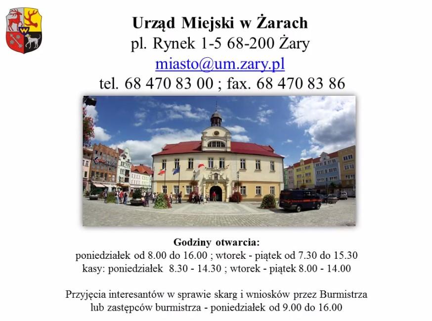 Ilustracja do informacji: Urząd Miasta - Mieszkańcom