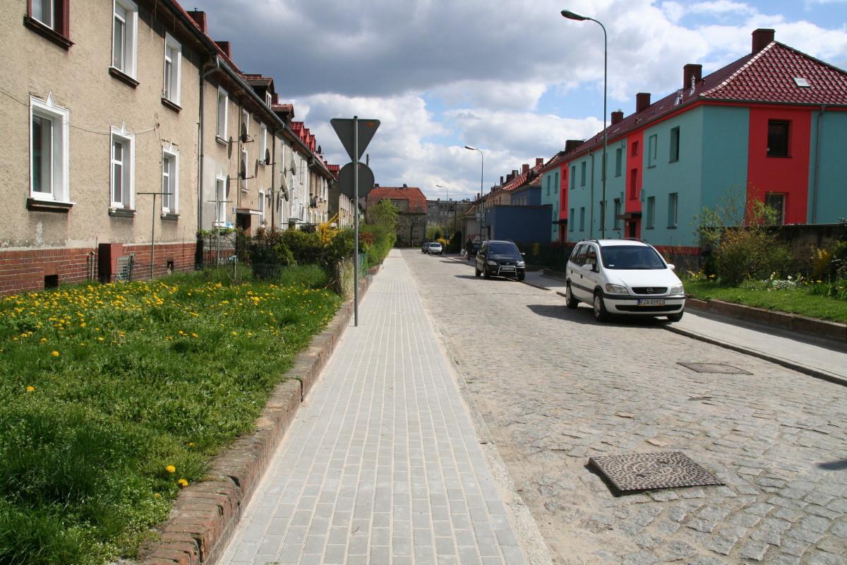 Ilustracja do informacji: Chodnik na ulicy Głogowskiej skończony.