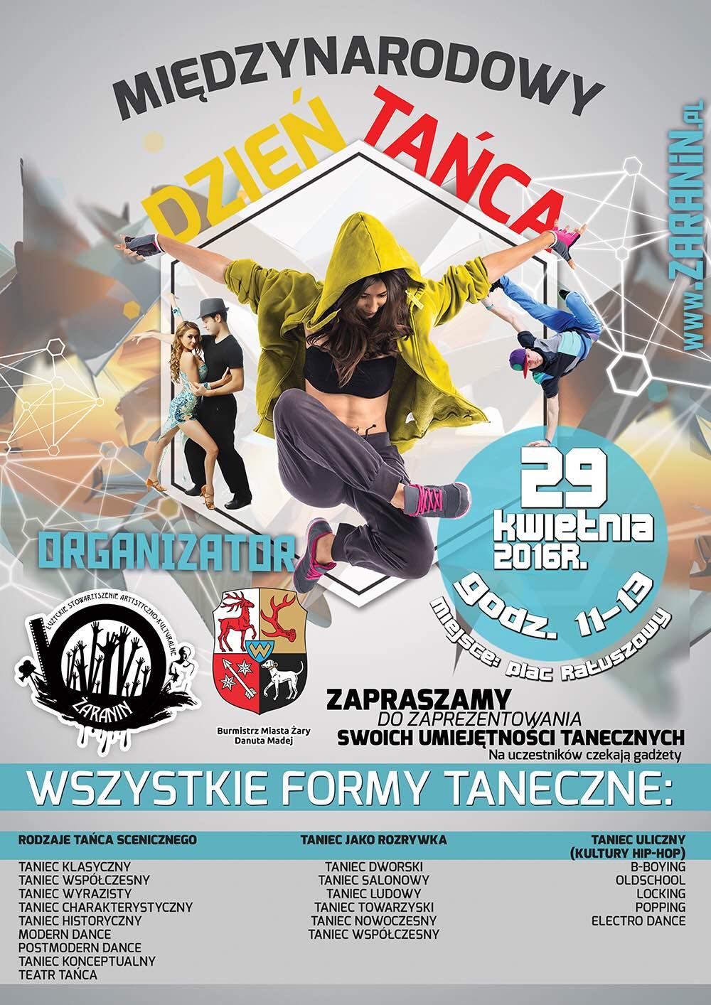 Ilustracja do informacji: Międzynarodowy Dzień Tańca