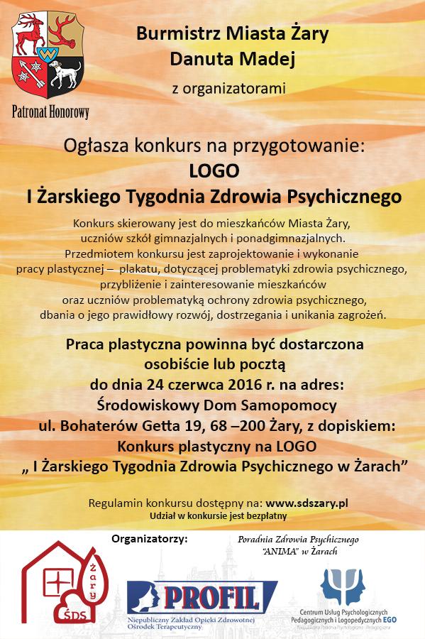 Ilustracja do informacji:  I Żarski Tydzień Zdrowia Psychicznego