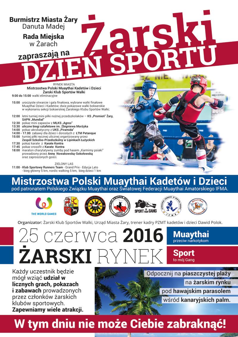 Ilustracja do informacji: Żarski Dzień Sportu