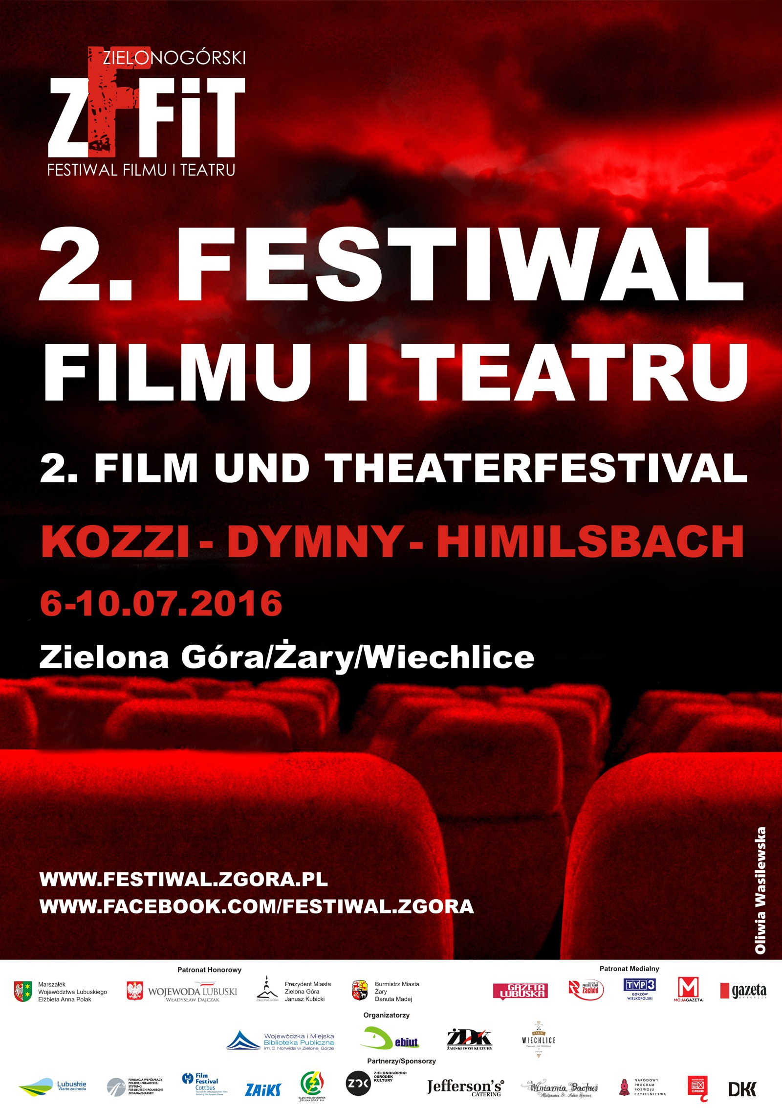 Ilustracja do informacji: 2. Festiwal Filmu i Teatru