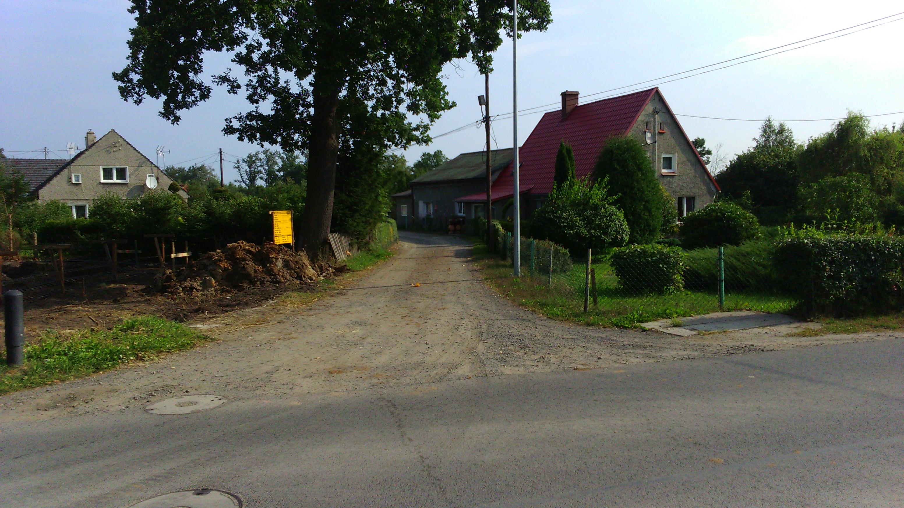 Ilustracja do informacji: Kunice, modernizacja ulica Pułaskiego