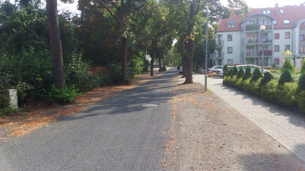 Ilustracja do informacji: Koniec modernizacji ulicy Spokojnej - jest nowa nawierzchnia drogi