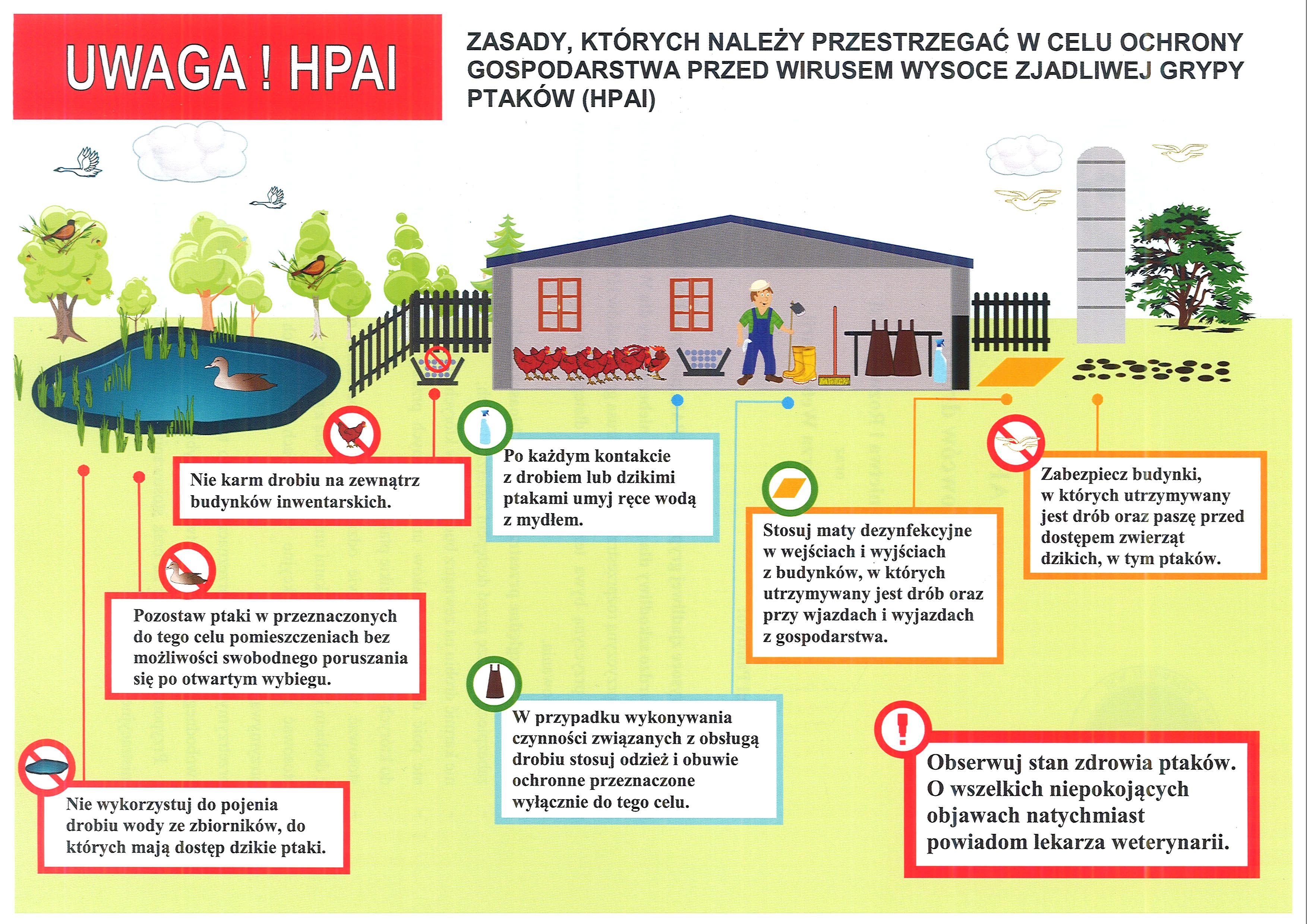Ilustracja do informacji: Informacja dla hodowców drobiu