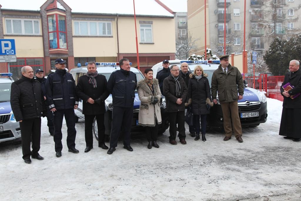Ilustracja do informacji: Nowy samochód dla Żarskiej Policji