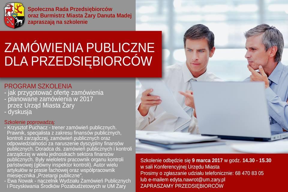 Ilustracja do informacji: Zamówienia publiczne dla przedsiębiorców