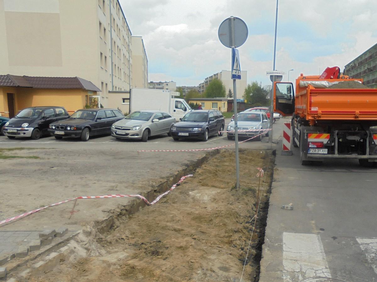 Ilustracja do informacji: Kolejny chodnik do remontu