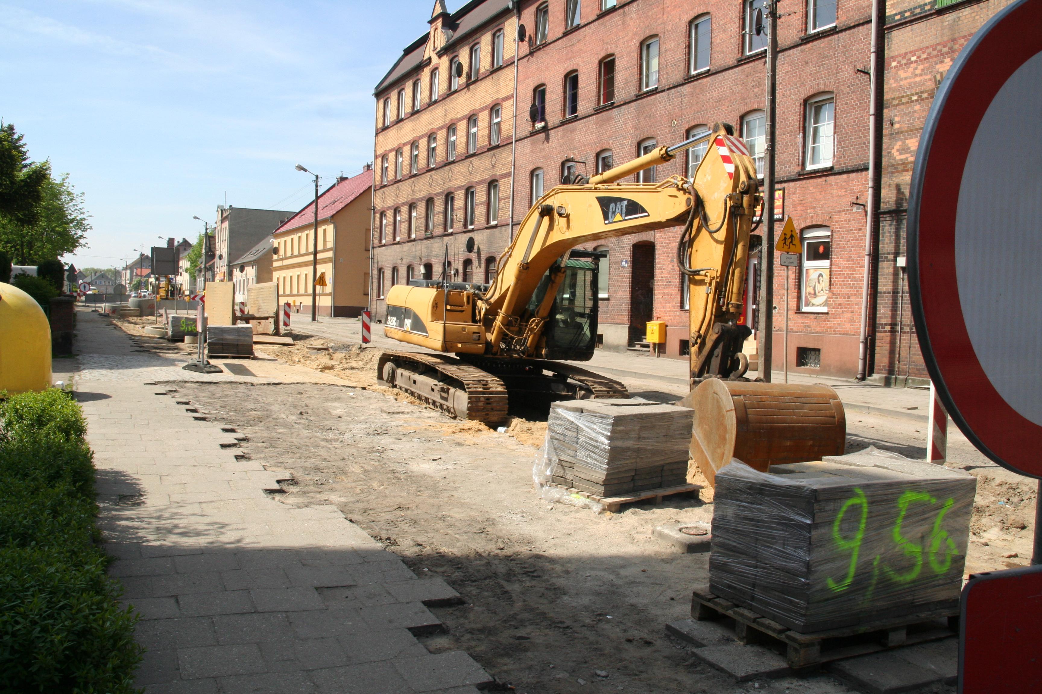 Ilustracja do informacji: Prace na Okrzei w Żarach