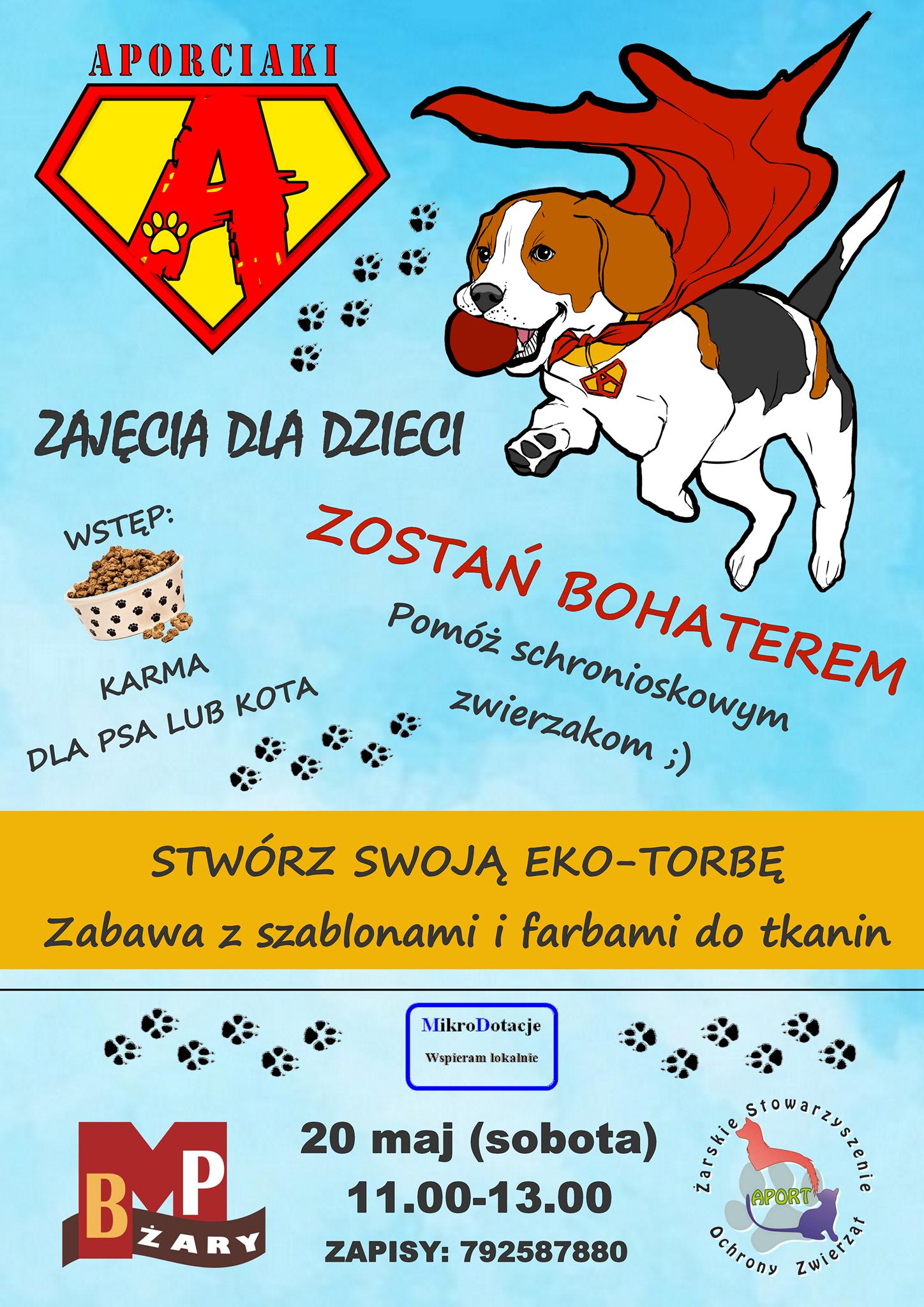 """Ilustracja do informacji: Zajęcia z cyklu """"Aporciaki"""""""