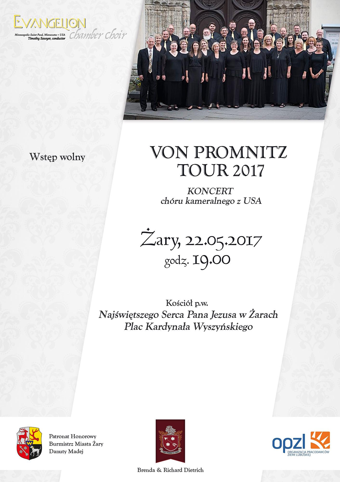 Ilustracja do informacji: VON PROMNITZ TOUR 2017