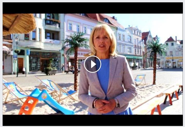 Ilustracja do informacji: Życzenia z okazji Dnia Dziecka - Danuta Madej Burmistrz Miasta Żary