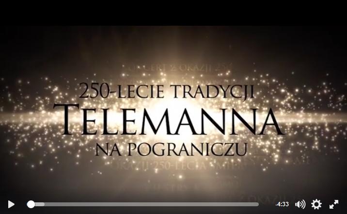 Ilustracja do informacji: Teledysk z koncertu Telemanna w pałacu