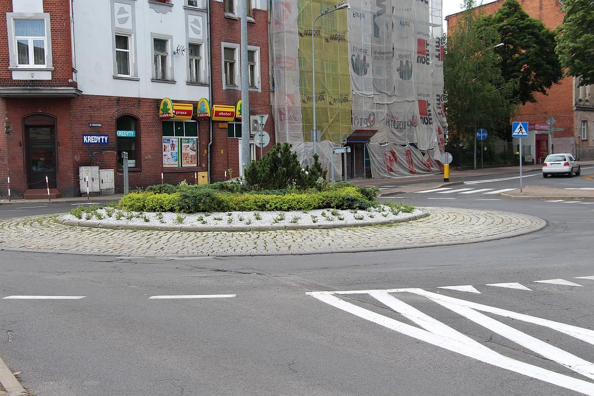 Ilustracja do informacji: Rondo przy ulicy Okrzei